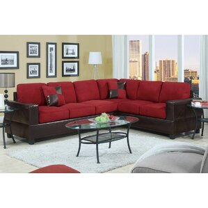 sc 1 st  Wayfair : red sofa sectional - Sectionals, Sofas & Couches
