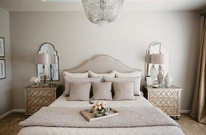 glam bedroom design - Glam Bedroom