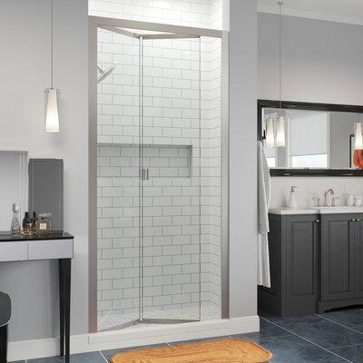 "Basco Infinity Bifold 31"" x 72"" Folding Semi-Frameless Shower Door"
