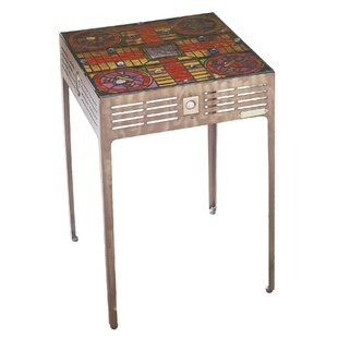 Parcheesi End Table