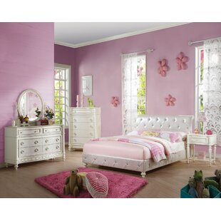 Ector Panel Configurable Bedroom Set