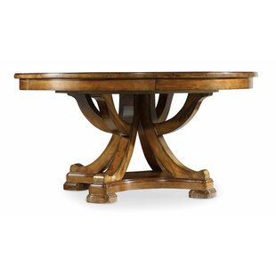 Tynecastle 60in Round Dining Table w/1-18in Leaf