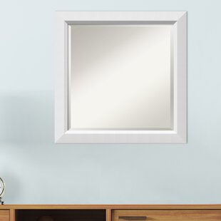 f732b7d5a619 Berenice Narrow Burnished Silver Frame Rectangle Accent Wall Mirror
