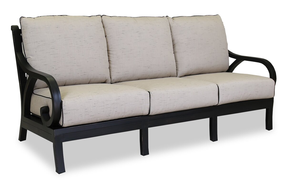 Sunset West Monterey Sofa With Self Welt Cushions