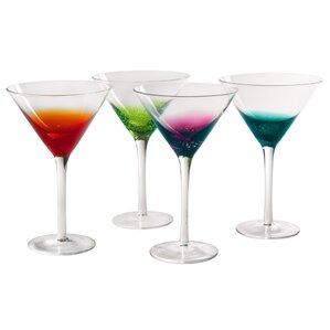 brumback martini glass set of 4