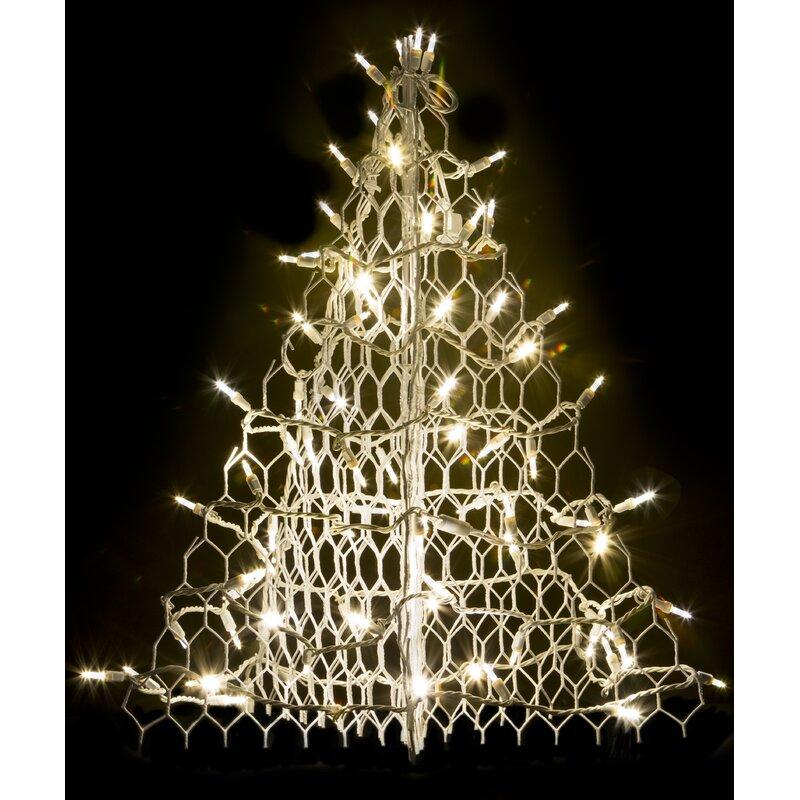 Crab Pot Christmas Trees Tree With 80 Led Mini Lights Wayfair