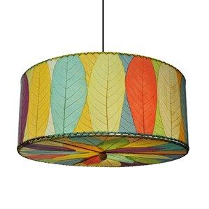 Hanging 3 Light Drum Pendant