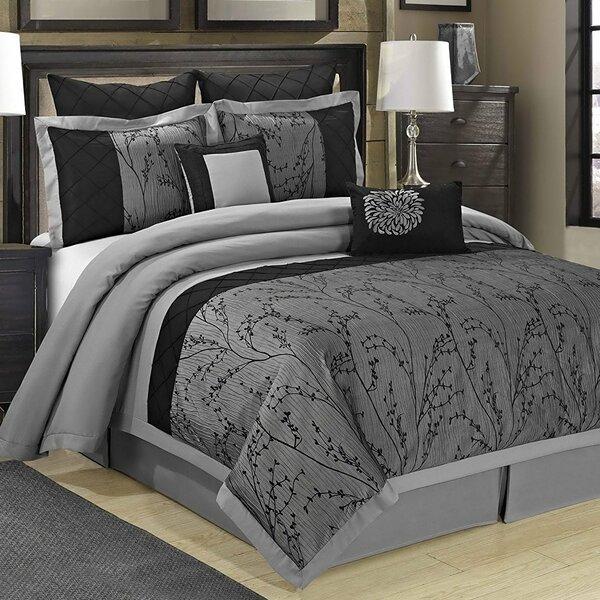 Homechoice International Group Wisteria 8 Piece Comforter