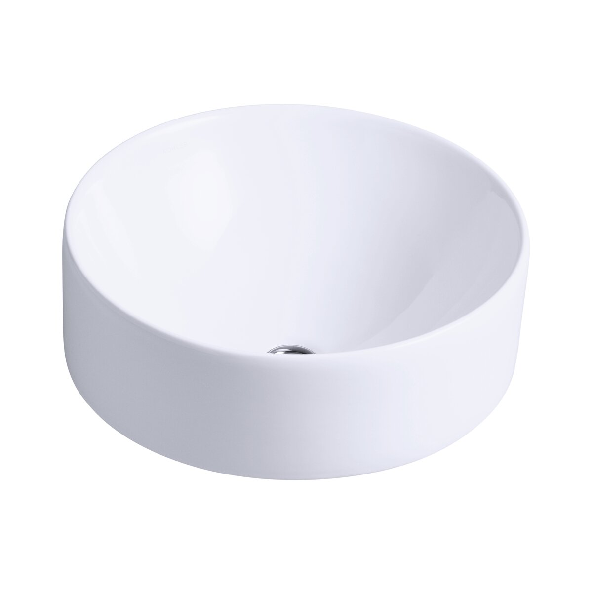 Delicieux K 14800 0,47,7 Kohler Vox Ceramic Circular Vessel Bathroom Sink With  Overflow U0026 Reviews   Wayfair