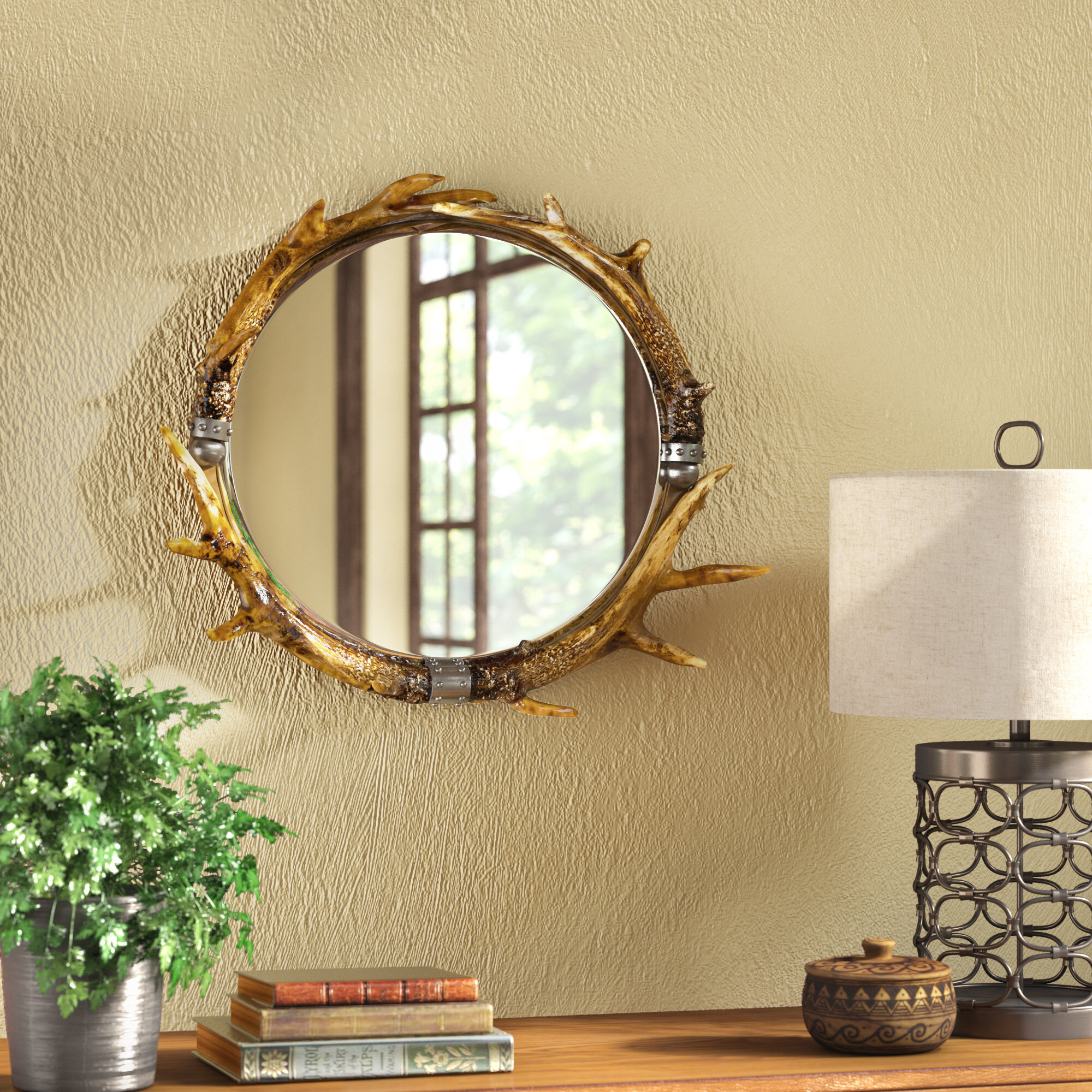 rustic wall mirrors rectangular loon peak rustic wall mirror reviews wayfair