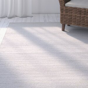 Clevenger Hand-Loomed Wool Ivory Area Rug