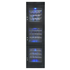 48 Bottle Triple Zone Freestanding Wine Cooler by Vinotemp