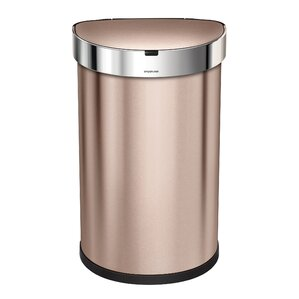 stainless steel 119 motion sensor trash can