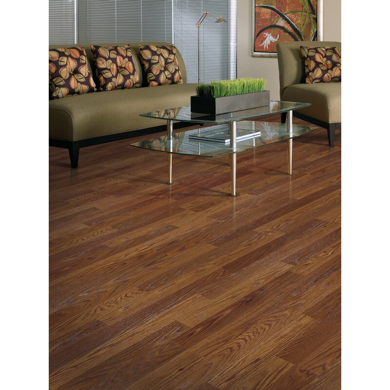 Mohawk Genova 6 X 54 X 8mm Oak Laminate Flooring Wayfair