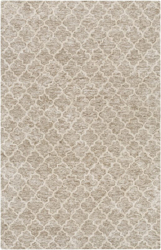 Sylvie Light Gray/Taupe Area Rug