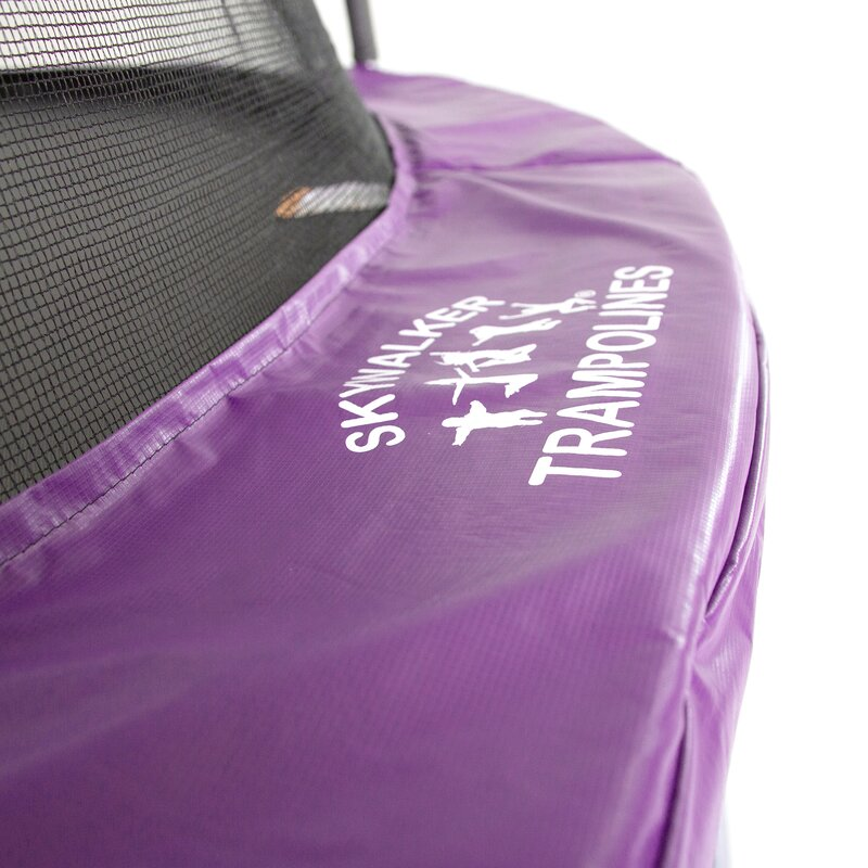 17 X 15 Oval Trampoline With Safety Enclosure