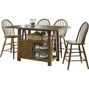 Claybrooks 5 Piece Counter Height Dining Set