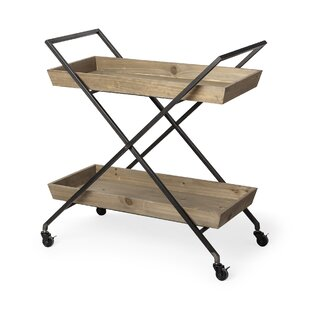 Trinidad Rolling Bar Cart