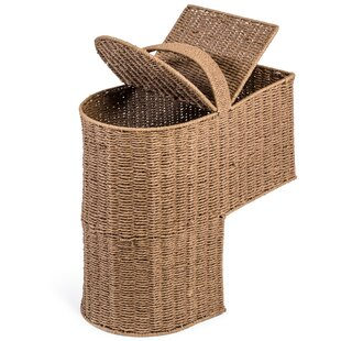 Superior Storage Stair Basket With Handle
