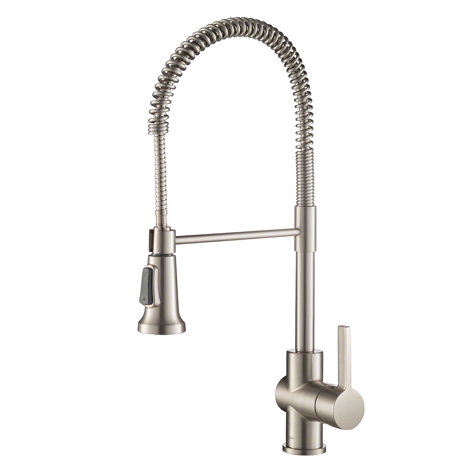 Kraus Britt Commercial Pull Down Single Handle Kitchen Faucet With