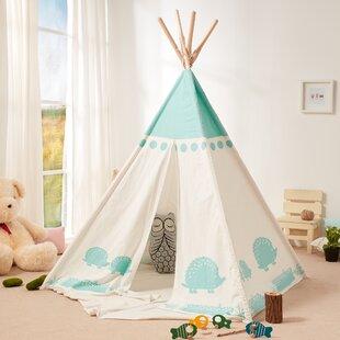Teamson Kids Teepee Hedgehog Play Tent & Indoor Play Tents u0026 Teepees Youu0027ll Love | Wayfair