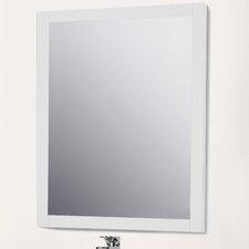 Jeremiah Rectangle Wood Wall Mirror