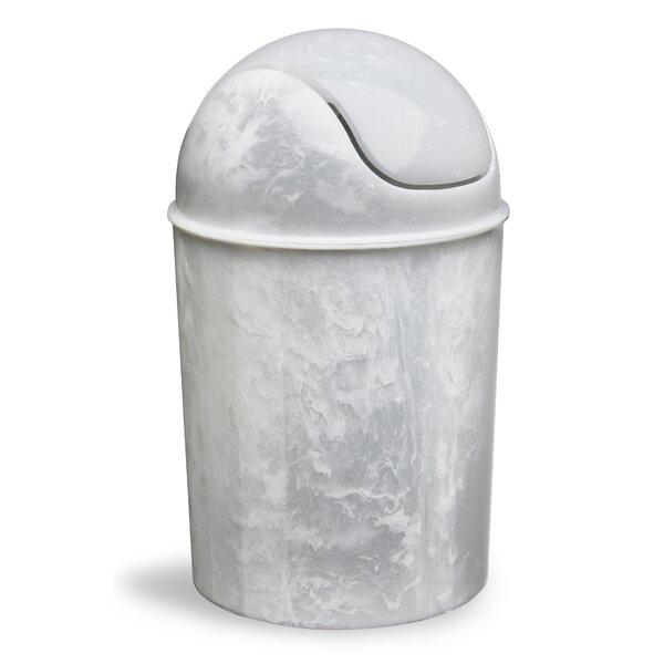 Umbra Mini 1 50 Gallon Swing Top Waste Basket Amp Reviews