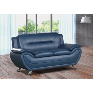 Faux Leather Loveseat Sofas You Ll Love Wayfair