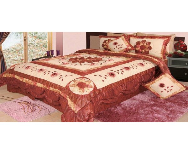 twin floral bright sets comforter set