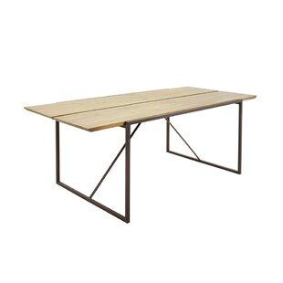 Plattsburg 79 Solid Wood Dining Table