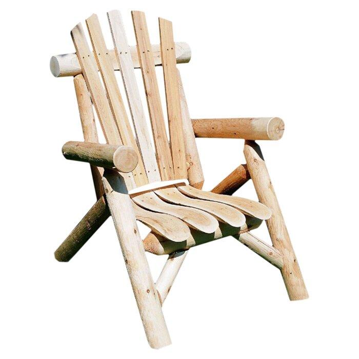 Allred Urban Solid Wood Adirondack Chair
