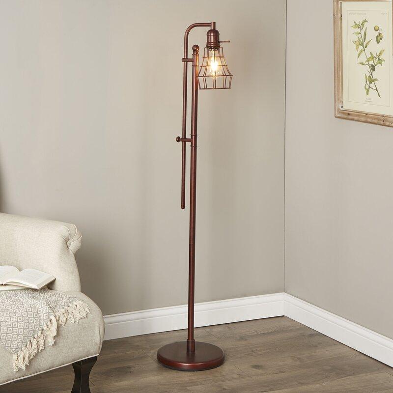 Birch Lane™ Domett LED Task Floor Lamp & Reviews | Birch Lane