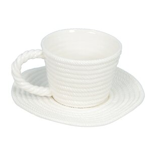 Rope Coffee Cup with Plate (Set of 2)  sc 1 st  Wayfair & Coffee Cup Sets With Stand | Wayfair