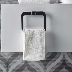 Futura Wall Mounted Towel Ring by Bisk
