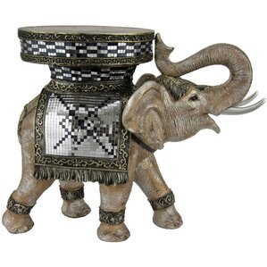Standing Elephant Statue by Oriental Furniture