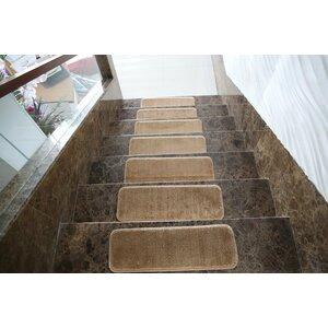 Ham Lake Beige Stair Tread (Set of 7)