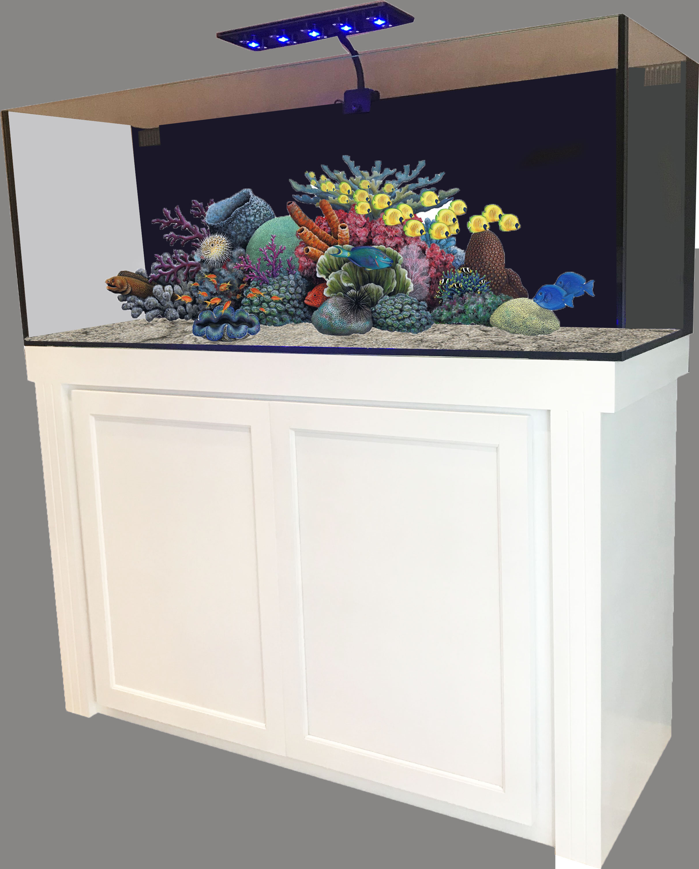 125 Gallon Stand Fish   Wayfair