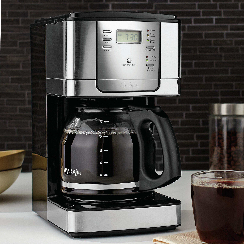 Mr  Coffee JWX Series 12 Cup Programmable Coffeemaker