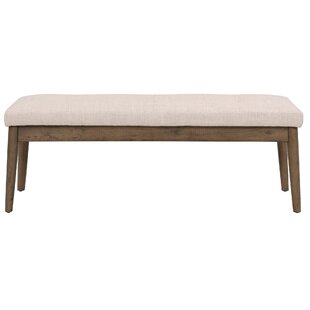 Wardle Upholstered Wood Bench