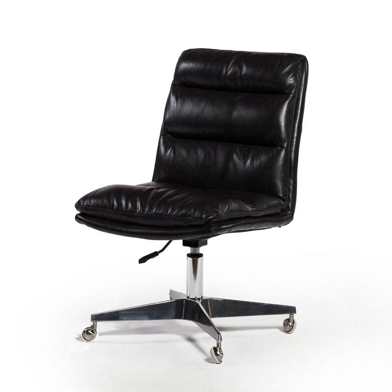 sc 1 st  Wayfair & Brayden Studio Souders Genuine Leather Task Chair | Wayfair.ca