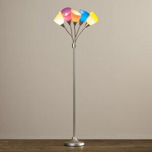 Teen girls floor lamp wayfair olene 66 tree floor lamp aloadofball Image collections