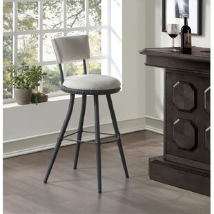 Twining Benton Adjustable Height Swivel Bar Stool