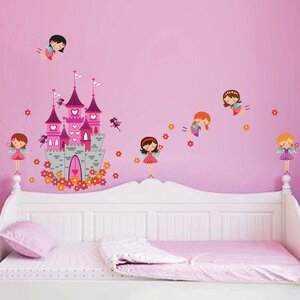 Angel Castle Wall Decal