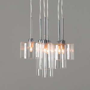 Siddharth 6 Light Cascade Pendant