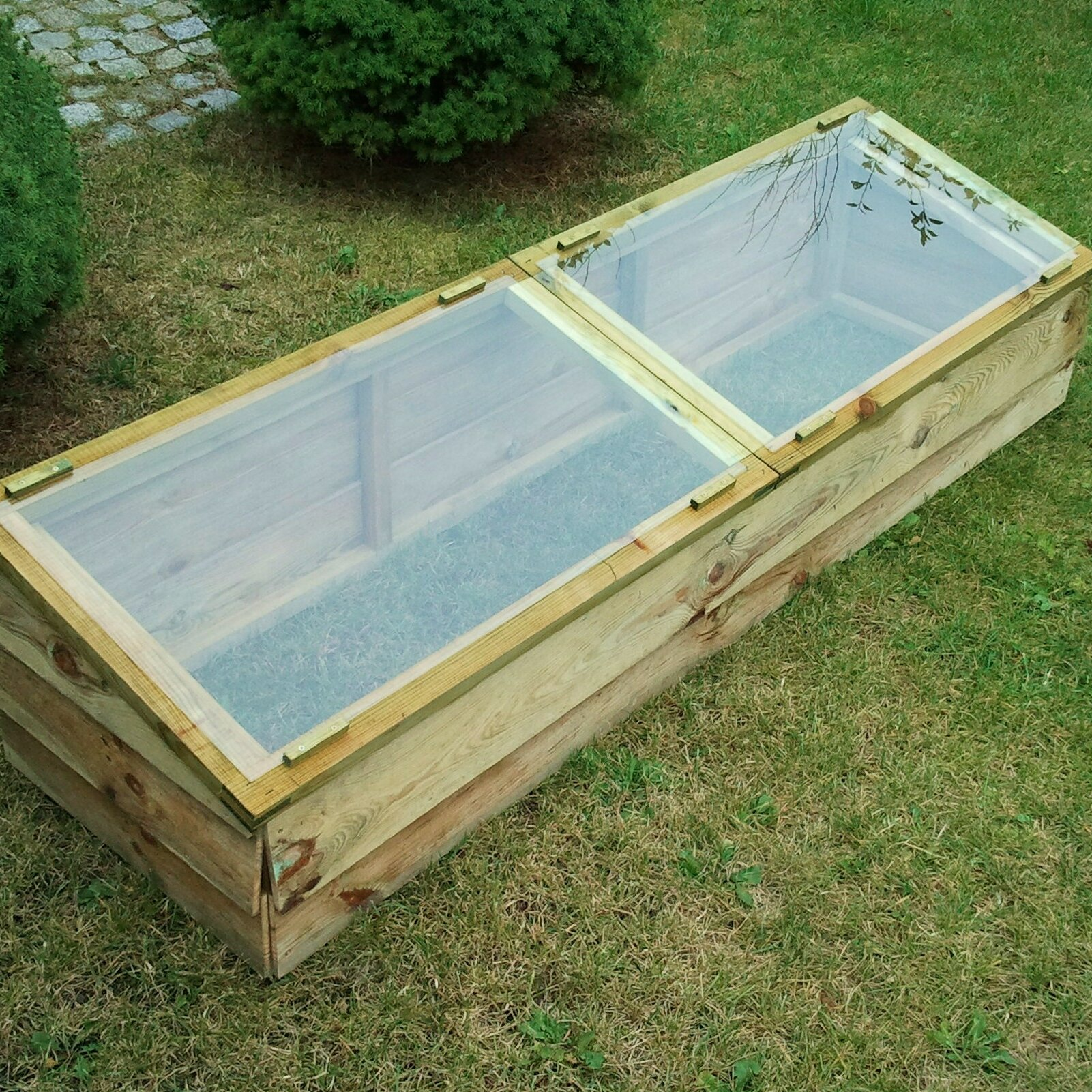 Zest 4 Leisure 1.7m W x 0.5m D Cold Frame Greenhouse & Reviews ...