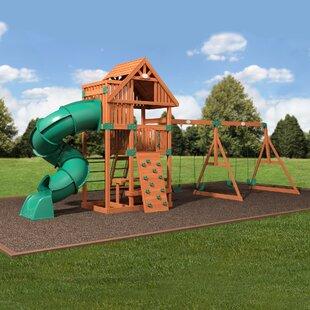 Swing Set With Tube Slide Wayfair
