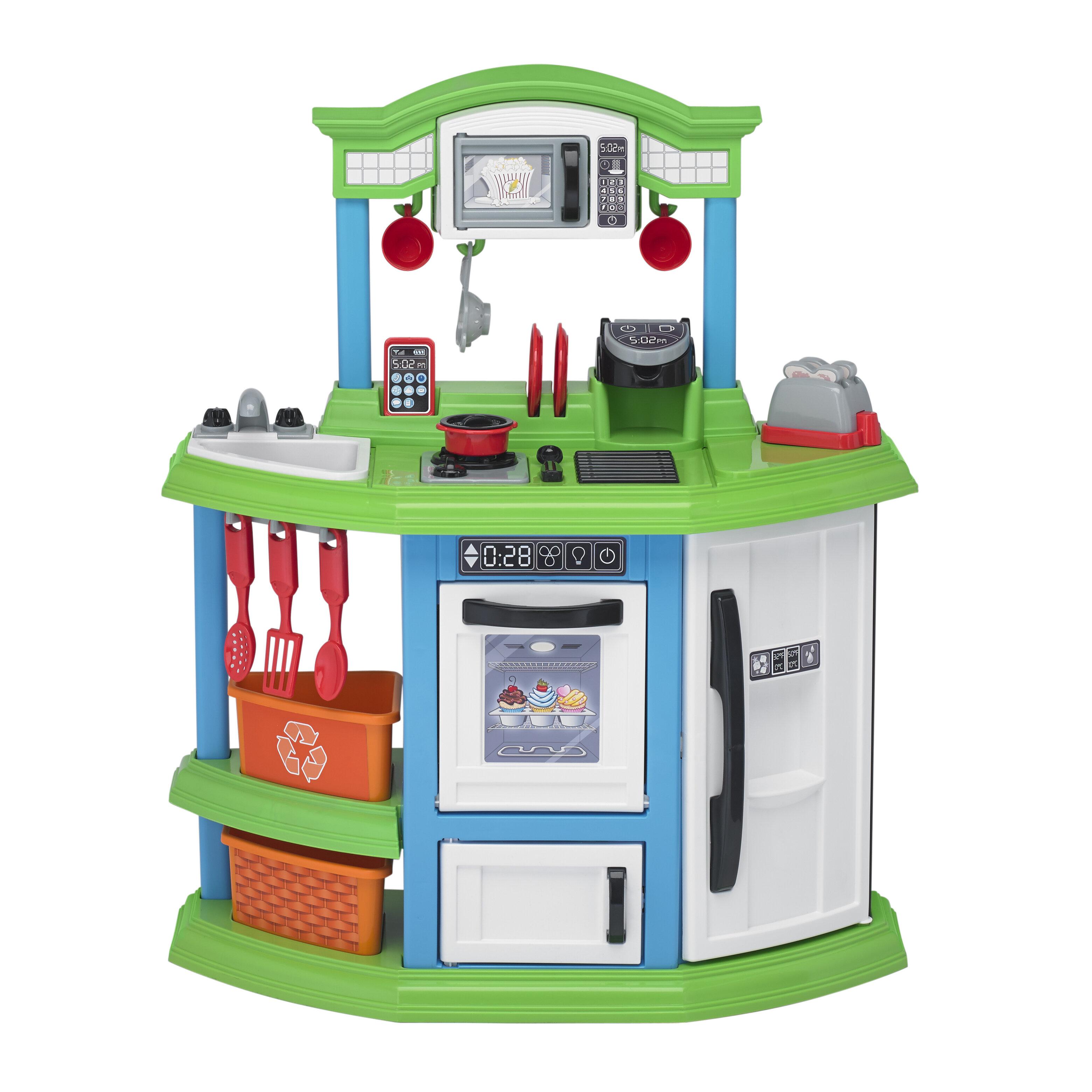 07daf841e1 American Plastic Toys 22 Piece Cozy Comfort Kitchen Set   Reviews ...