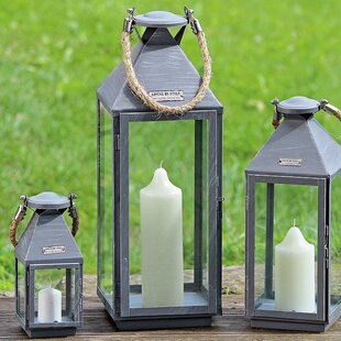 Hadrienibal 3 Piece Lantern Set by Home Etc