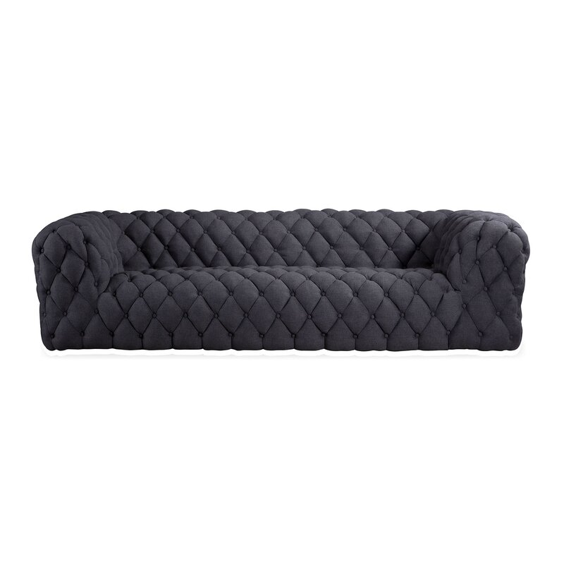 Kardiel Cumulus Mid Century Modern Tufted Chesterfield Sofa | Wayfair