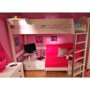 Casa European Single High Sleeper Bed With Storage